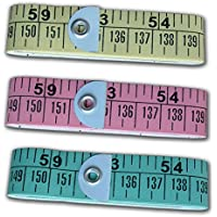 Century Paper Sewing Tailor Measuring Ruler Tape (Pack of 3)