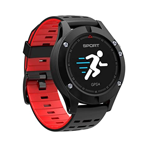 ZGYYDY Smart Watch GPS Bluetooth 4.2 Aleación Impermeable ...