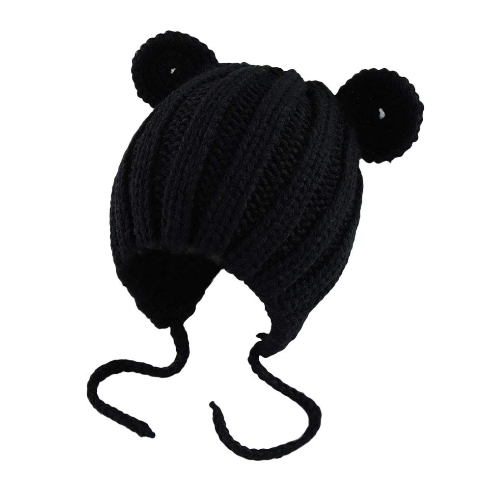 Baby Hat Cute Bear Toddler Earflap Beanie Warm Fall Winter
