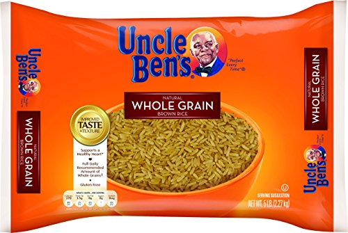 UNCLE BEN'S Whole Grain Brown Rice, 5 lb. Bag (Pack of 6)