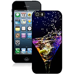 Cocktail Hard Plastic iPhone 5 5S Protective Phone Case