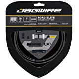 Jagwire Road Elite Waterproof Gear Cable Kit Matt Black