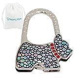 Roflyer Animal Insect Design Purse Hook Holder Handbag Hanger (Puppy)