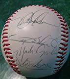 #5: Darren Daulton Gary Sheffield Jeff Conine Chuck Carr Signed Marlins Baseball Coa - Autographed Baseballs