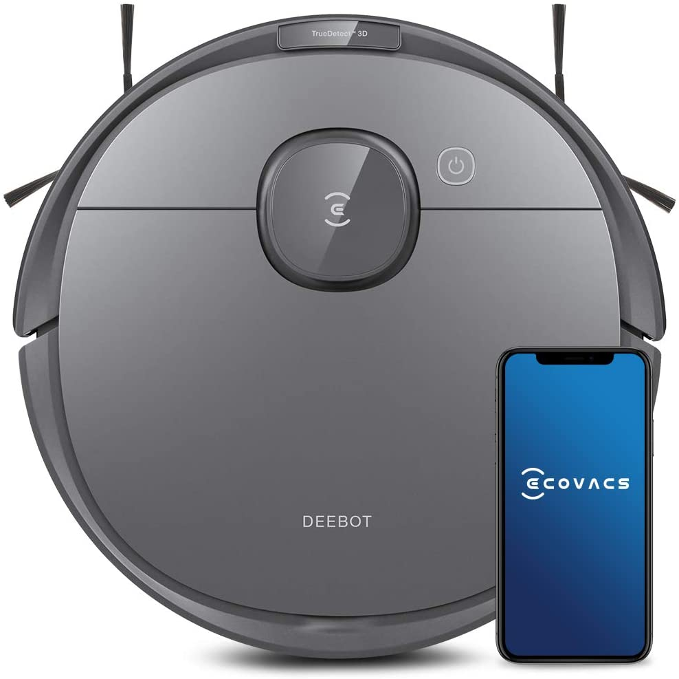 Ecovacs Deebot T8 Robot Vacuum & Mop Cleaner with Advanced Object Detection and Avoidance