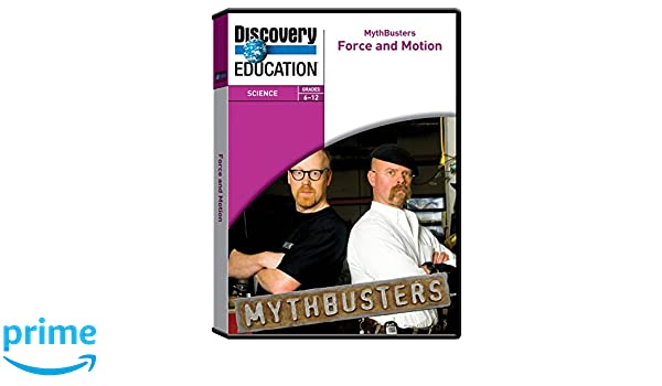 Amazon.com: Discovery Education MythBusters: Force and Motion DVD ...