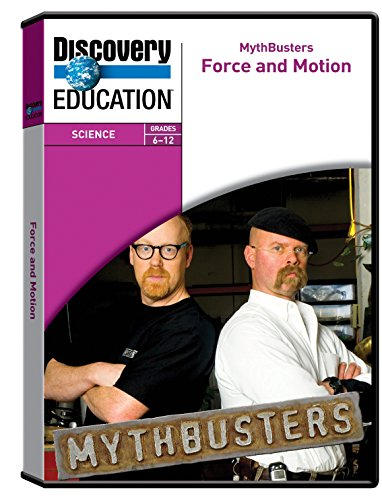 Discovery Education Mythbusters  Force And Motion Dvd