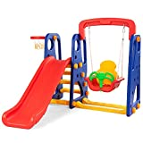 Best backyard basketball hoop - Costzon Toddler Climber and Swing Set, Junior Basketball Review