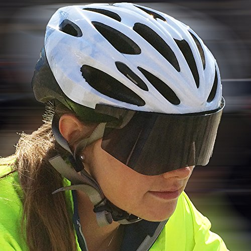 Flex-Fit Removable Biking Visor Polarized - Flex Visors Fit