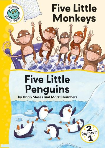 Five Little Monkeys and Five Little Penguins (Tadpoles: Nursery Rhymes) by Crabtree Pub Co