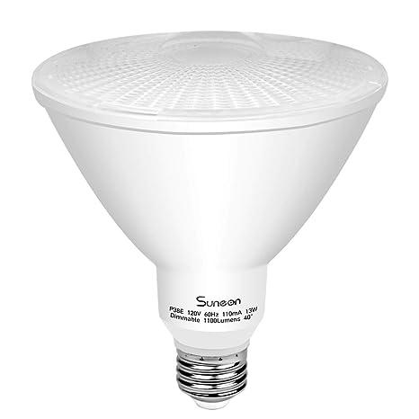 Amazon.com: par38 LED Bombillas 3000 K blanco cálido foco de ...