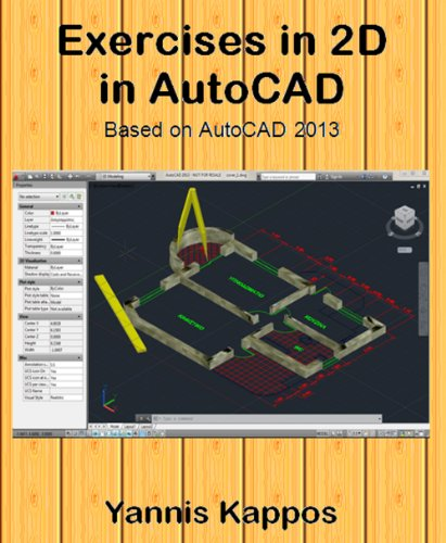 Download Exercises in 2D in AutoCAD Pdf