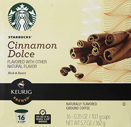 Starbucks Cinnamon Flavored Coffee Keurig