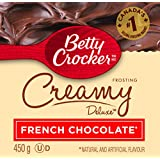 Betty Crocker French Chocolate Creamy Deluxe Frosting 450 Gram