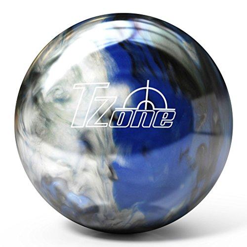 Brunswick-T-Zone-PRE-DRILLED-Bowling-Ball-Indigo-Swirl-Customizable