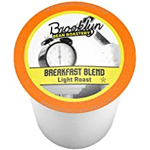 Brooklyn Beans Breakfast Blend Single-Cup coffee for Keurig K-Cup Brewers, 40 Count