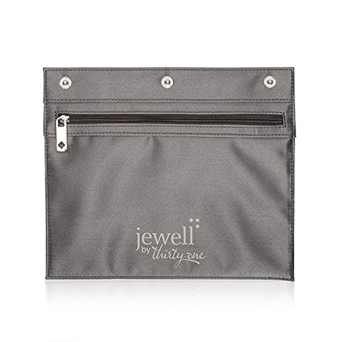 Thirty One Zipper Pocket by Jewell in City Charcoal - 8015