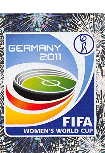 (2011 Panini FIFA Women's World Cup Stickers Soccer #2 Official Emblem Roll Of Honor Metal Official 2 inch X 2 1/2 Inch Album Sticker)