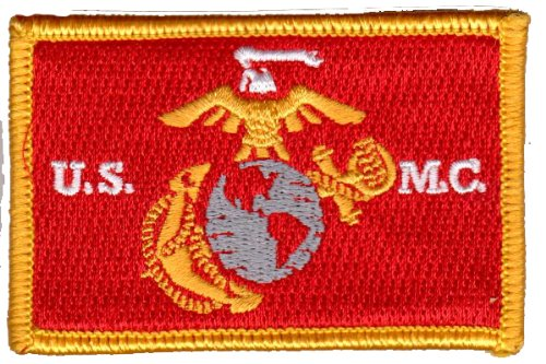 USMC Tactical Patch - Red & Yellow by Gadsden and Culpeper