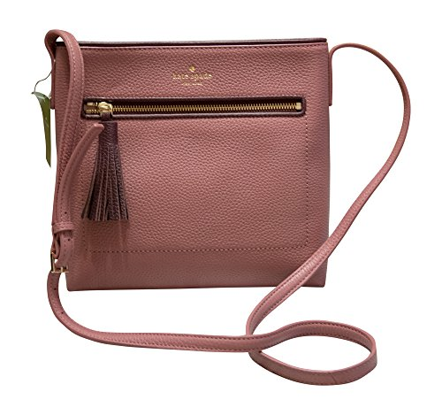 Kate Spade New York Chester Street Dessi Pebbled Leather Shoulder Crossbody Bag, Rehrum, Mahogany