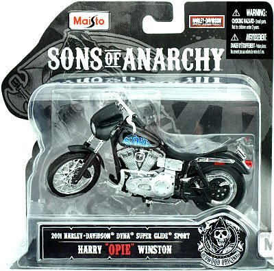 maisto-118-scale-sons-of-anarchy-2001-hd-dyna-superglide-sport-harry-opie-winston-diecast-motorcycle