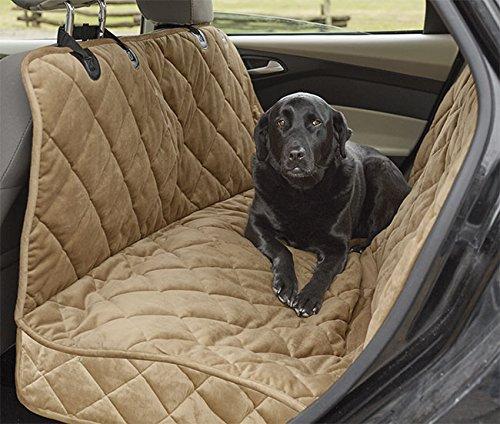 Orvis Deluxe Microfiber Car Hammock Seat Protector / Khaki, XL