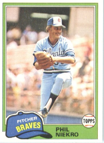 Phil Niekro Atlanta Braves (Baseball Card) 1981 Topps ()