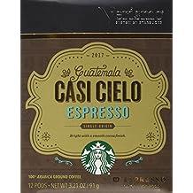 2017 Starbucks Guatemala Casi Cielo Espresso Verismo Pods - 48 Counts
