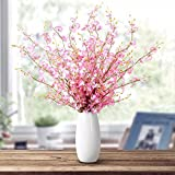 Home Decor And ceramic vases floral decorations flower drawing artificial flowers emulation flower kit living room with yellow dancing in the electoral package price health, large vases eight Pink