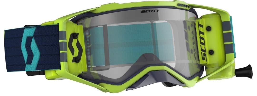 Scott Prospect LS MX Goggle Cross//MTB Brille gelb//rot//light sensitive grau works