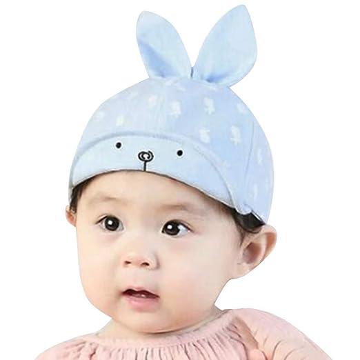 Toddler Winter Hat 6Month-4Year Infant Kids Cute Rabbit Ear Cotton Beanie  Hats Cap ( e2828767a565