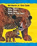 download ebook baby bear, baby bear, what do you see? (brown bear and friends) by martin, bill (2014) hardcover pdf epub