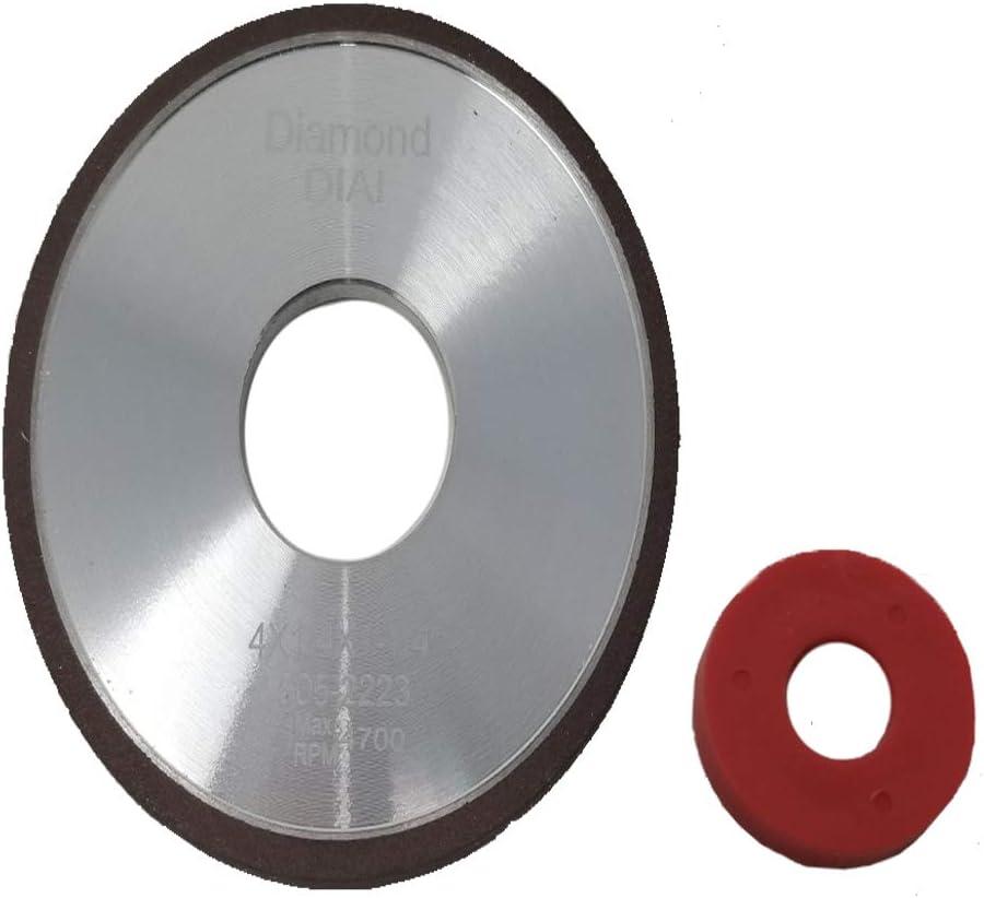 4 Diamond Greenteeth Sharpening Wheel 1//4 150 Grit w//Adapter