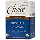 Choice Organic Teas Black Tea, Russian Caravan, 16 Count