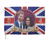 "30"" Flag The Royal Wedding Harry & Meghan Commemorative Flag 30"" x 20"""