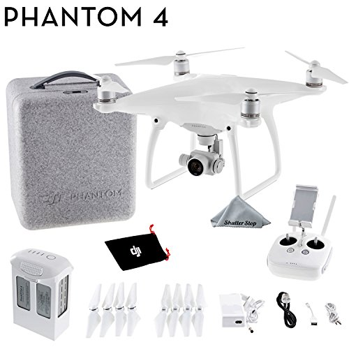 DJI Phantom 4 Quadcopter 4K video 12mp Camera Drone (Aircraft Cable Supported)