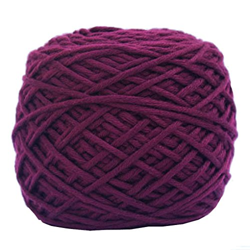 Makaor Simply Soft Yarn,Silk Wool Yarn,Knitting Sweater Knitting Yarn,Cotton Yarn (Ball Size:About 170 grams per ball, (Alphabet Cotton Crib)