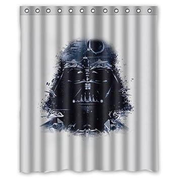 LOVELIFE Darth Vader Art Star Wars Illust Custom Shower Curtain 66quot