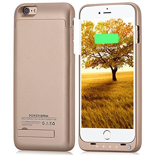 4000mah External Battery Case iPhone 6 Plus/ iPhone 6s Plus (Gold) - 8