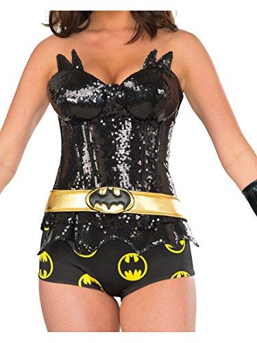 Rubie's Women's Deluxe Corset, Batgirl,