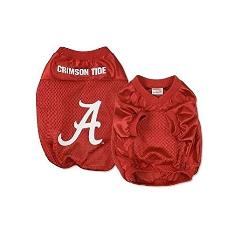 official photos 4b774 85249 Amazon.com : Sporty K9 Alabama Football Dog Jersey, Medium ...