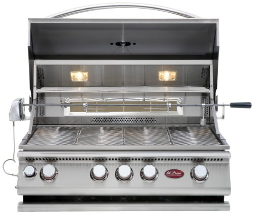 CalFlame BBQ08874CP-A 4 Burner Convection