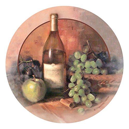 Thirstystone Stoneware Coaster Set, Wine & Fruit