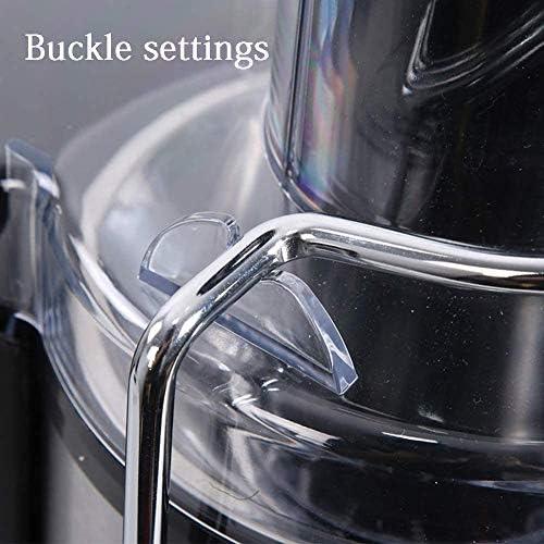 Presse-agrumes, presse-agrumes, avec double verrouillage, commutateurs rotatifs, la conception de grand diamètre, la séparation de jus Scories, acier inoxydable et sans BPA