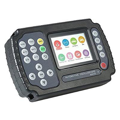 Walmeck Digital Storage Automotive Oscilloscope Multimeter LCD TFT Display 2 Channels 10MHz Bandwidth 100MSa/s Sampling Rate