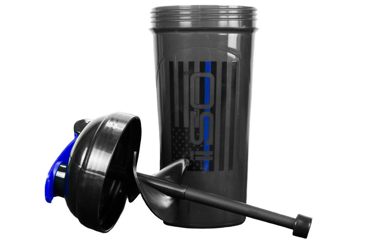 Isolator Fitness ISO-SHAKER Bottle (Thin Blue Line)