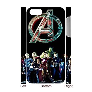 B-G-L0039608 3D Art Print Design Phone Back Case Customized Hard Shell Protection Iphone 4,4S