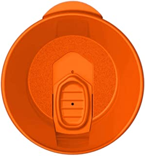 product image for Smile Drinkware USA- Lids For Insulated Tumblers - Three Sizes To Choose From And Many Colors - 12oz Orange