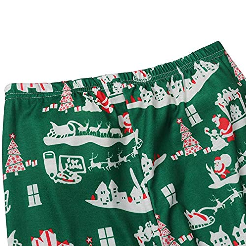 Nightwear Abbigliamento Padre Bambino Pigiama Casa Famiglia Manica Pap Abbigliamento Lunga Figlio Set Natalizio Donna Uomo Natale da wwvUfF