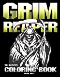 Grim Reaper - Coloring Book: Halloween Coloring Book for Adults & Teens - Horror Creatures, Hell Demons and Angels of Death (36 Images)